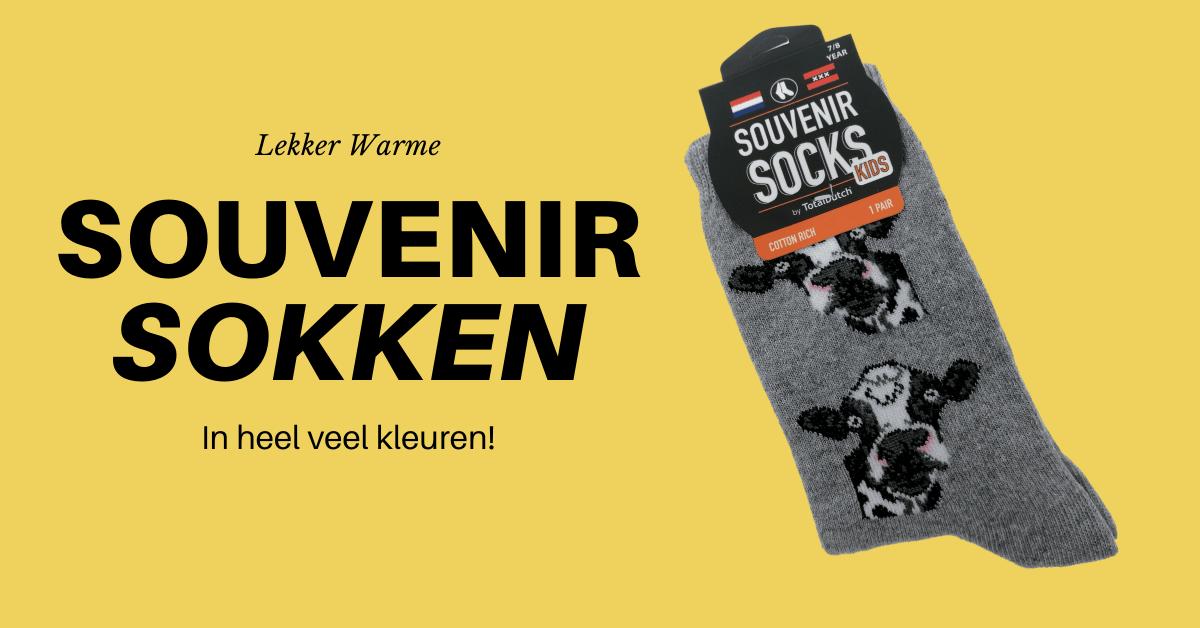 Trendy en comfortabele souvenirs sokken